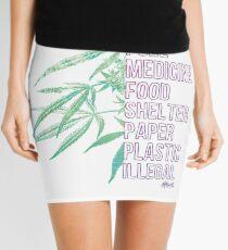 Hemp is Mini Skirt