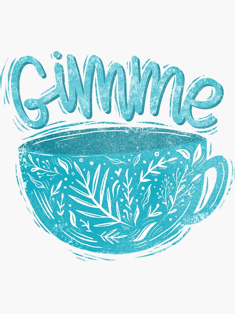 Gimme coffee by mirunasfia