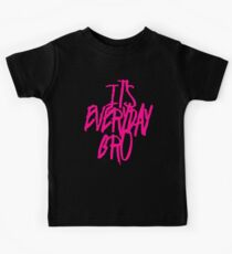 It's Everyday Bro Jake Paul Team 10 Pink T-Shirt Kids Clothes