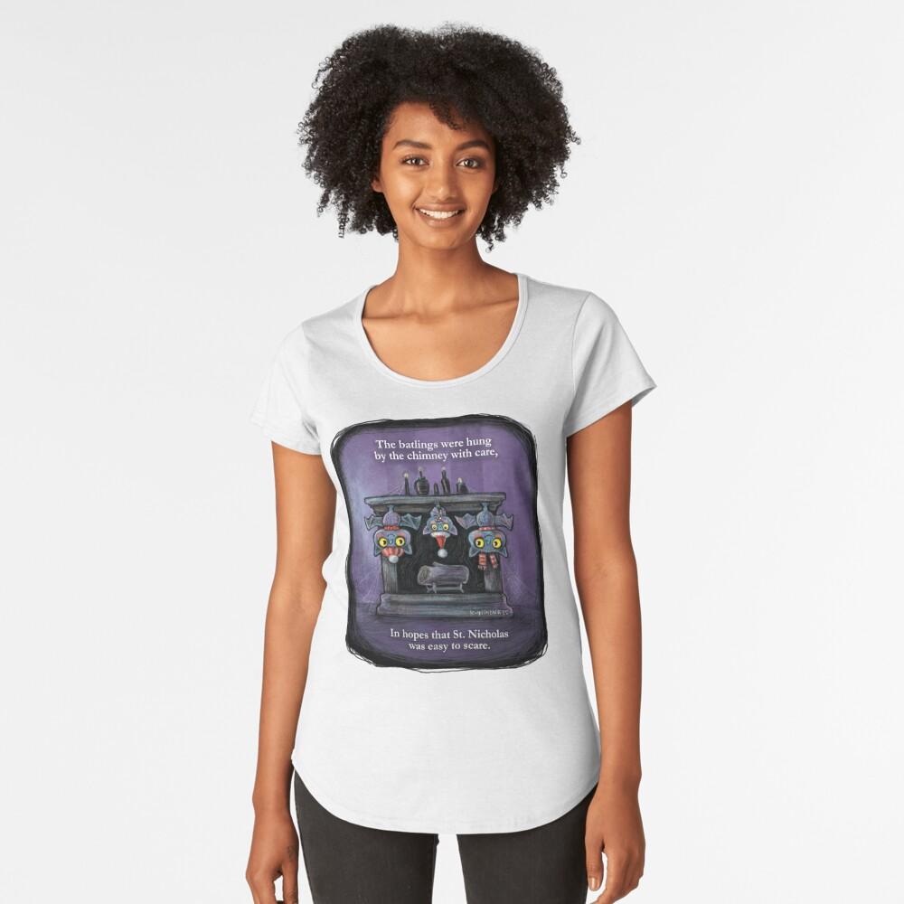 Holiday Batlings Premium Scoop T-Shirt