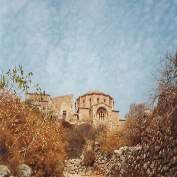 Monemvasia Greece by Orangemoth