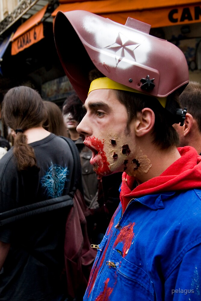 zombie for halloween by pelagus