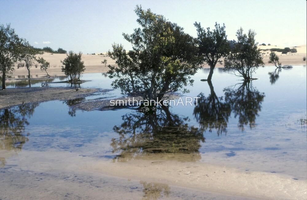 Stockton Bight Sand Dunes by Bernadette Smith (c) by smithrankenART