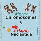 Merry Chromosomes & a Happy Nucleotide by raymondsbrain