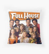 full house Throw Pillow