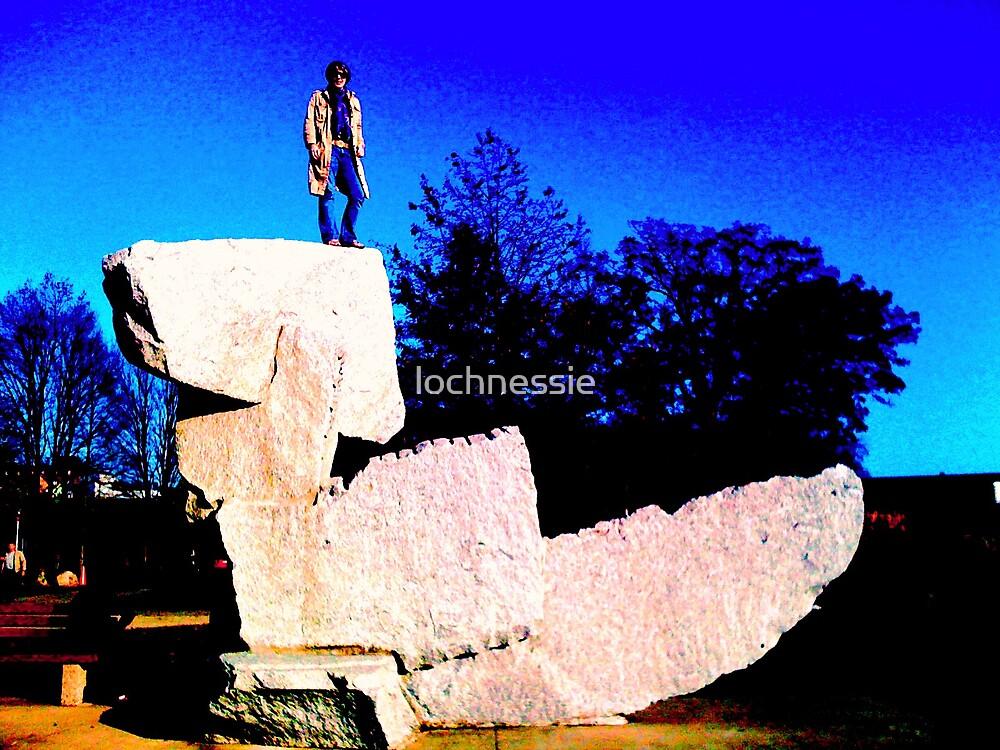 the rock by lochnessie