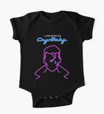 Schrei Baby Johnny Deep Divine - John Waters Kult Bizarre Film Pink Blue Baby Body Kurzarm