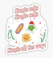 Funny Christmas Biology T Shirts Gifts for Women Men Biologist  Sticker