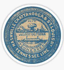 Nashville Chattanooga Line Sticker