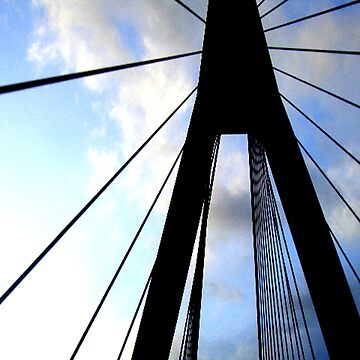 Anzac Bridge by Orangemoth