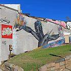 A Mural On Bladensburg Road by Cora Wandel