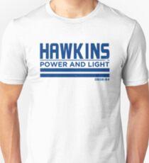 Stranger Things Hawkins Power & Light  Unisex T-Shirt
