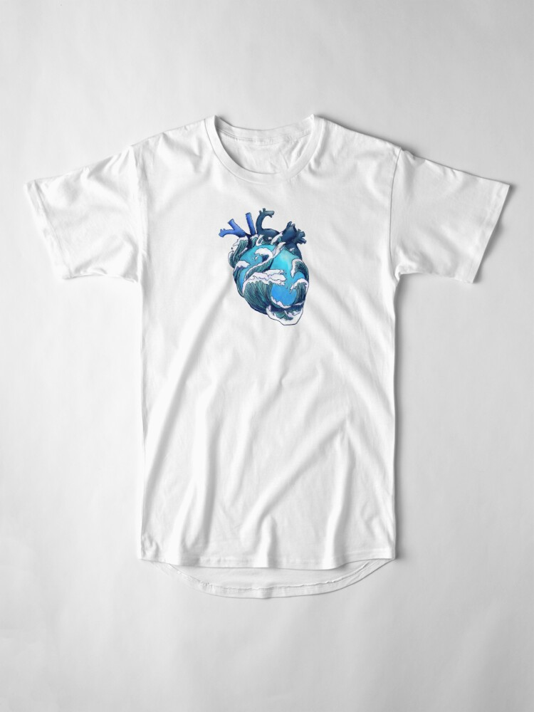 Alternate view of Beneath the Waves Long T-Shirt
