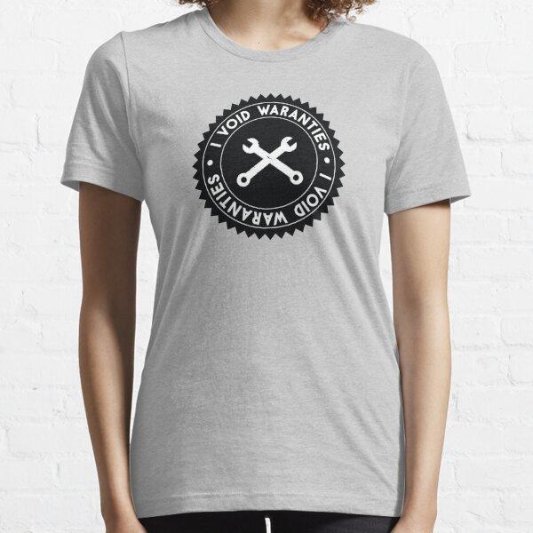 I Void Warranties Robotics Humor Essential T-Shirt