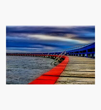 """Evening on the Promenade"" Photographic Print"