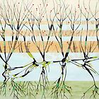 withered trees by federico cortese