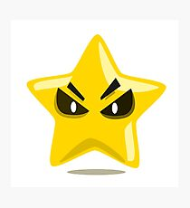 Angry Star Photographic Print