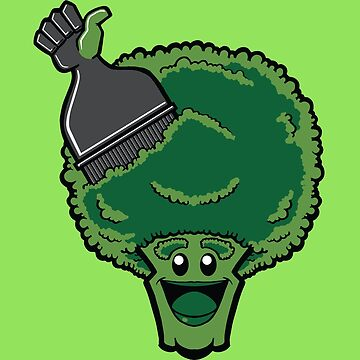 B is for Broccoli in my ABC's of Groceries (Fresh Picked!) by Frankenstylin