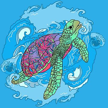 Sea Turtle by sayers