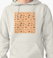 Give thanks pattern Pullover Hoodie