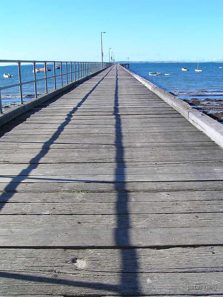 Pier by peter riley