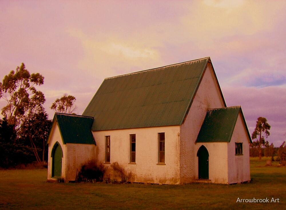 Swannanoah Church, NZ by John Brotheridge
