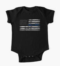Blue Line (White) Kids Clothes