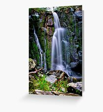 """Phantom Falls"" Greeting Card"