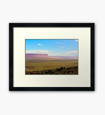 South west United States desert landscape Framed Print