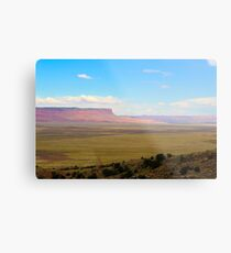 South west United States desert landscape Metal Print