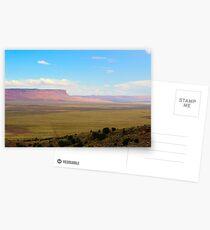 South west United States desert landscape Postcards