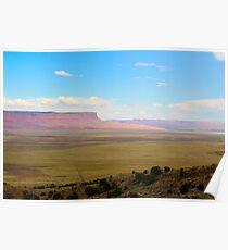 South west United States desert landscape Poster