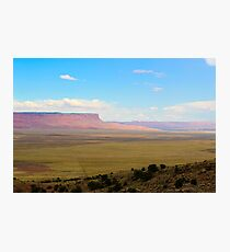 South west United States desert landscape Photographic Print