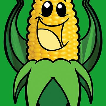 C is for CORN in my ABC's of Groceries by Frankenstylin