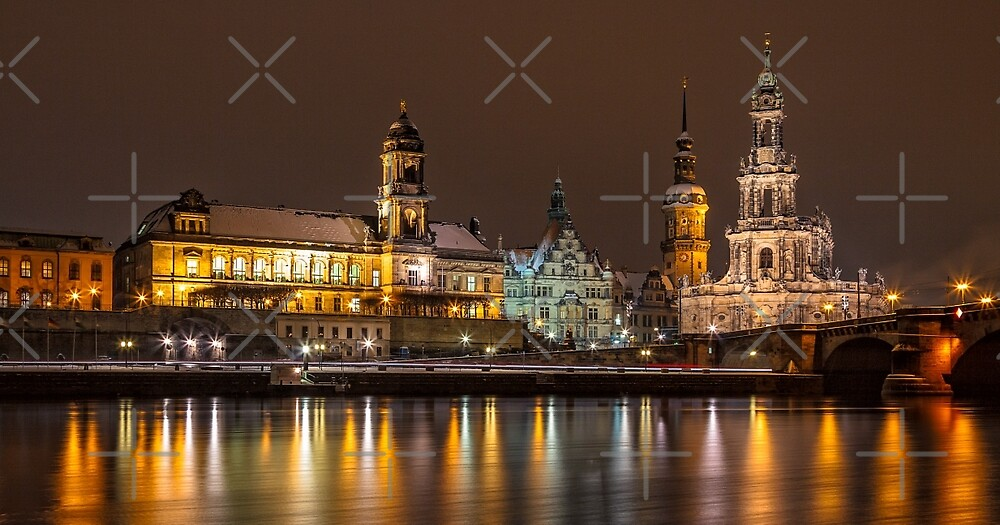 Dresden - The capital of Saxony, Germany (I) by Bernd F. Laeschke