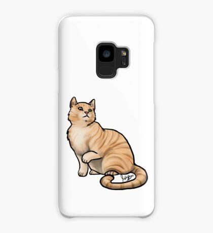 Big Tabby Cat Case/Skin for Samsung Galaxy