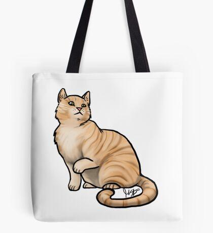 Big Tabby Cat Tote Bag