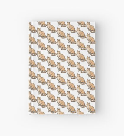 Big Tabby Cat Hardcover Journal