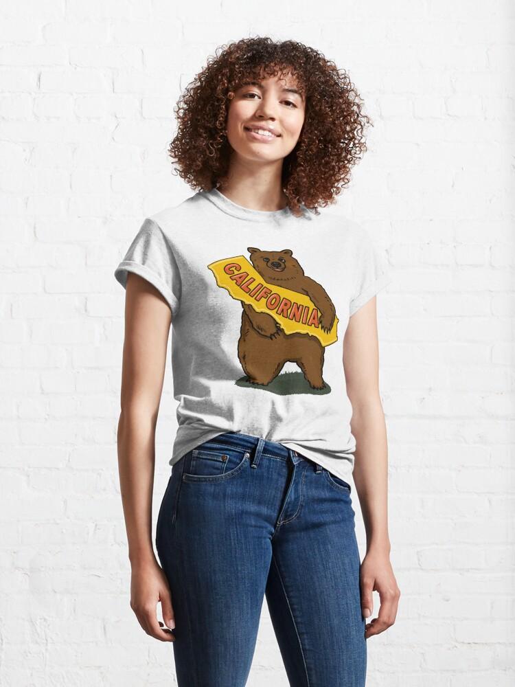 Alternate view of California State Bear Classic T-Shirt