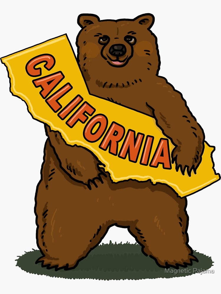 California State Bear by MagneticMama