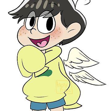 Angel Matsu sticker by LilacGalaxy