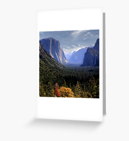 Heavenly  View Greeting Card