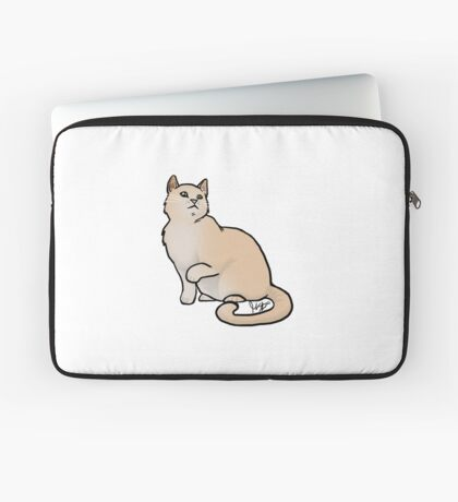 Big Yellow Cat Laptop Sleeve