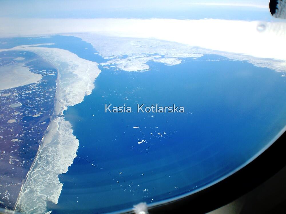 Flying over Siberia in the summertime. by Kasia  Kotlarska