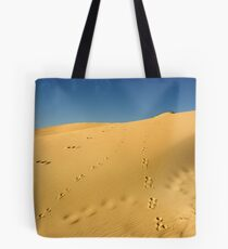 Footprints in the sand... Tote Bag