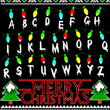 Stranger Things Christmas by sarahhwilsonn