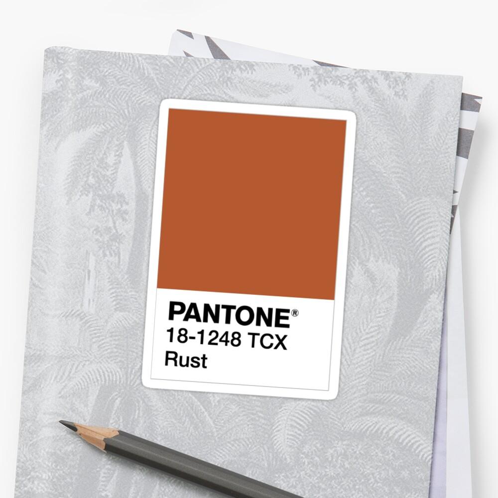 Pantone Rust By Dimi Boutselis