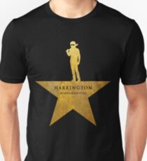 HARRINGTON: An American Babysitter (gold texture) Unisex T-Shirt