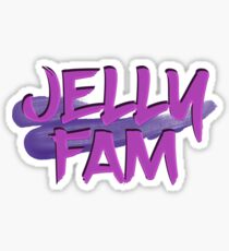 Jelly Fam Hq Stickers Redbubble