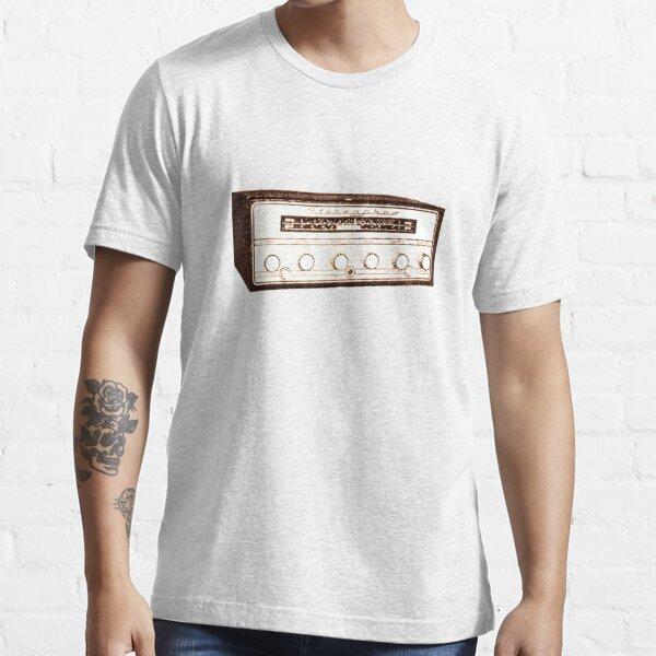 Cool, Retro, Vintage Radio/Amplifier Essential T-Shirt